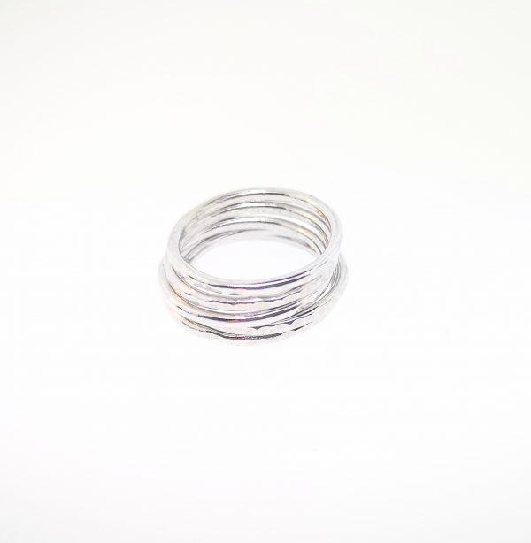 Circle Stacking Ring - Sterling Silver - IMG 20200417 104555