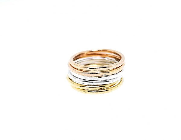 Circle Stacking Ring - Rose Gold Plated - IMG 20200428 223537