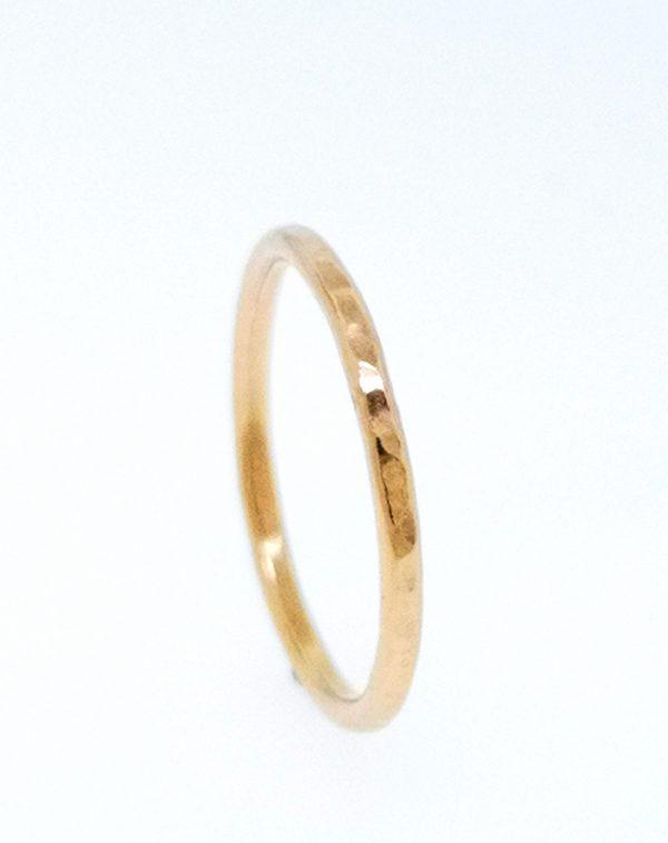 Circle Stacking Ring rose gold