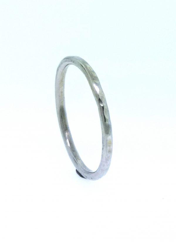 Circle Stacking Ring - Sterling Silver