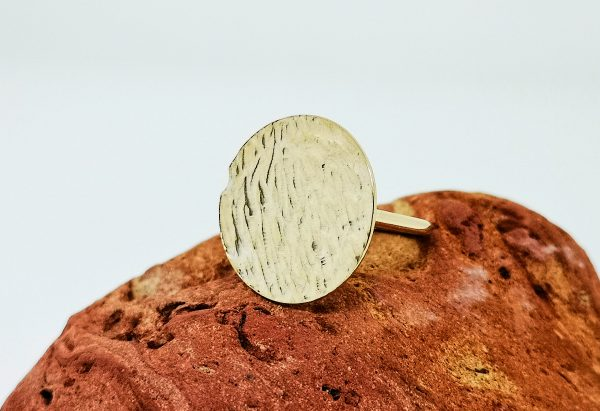 Ripple Disc Ring - Yellow Gold Plated - IMG 20200429 100611