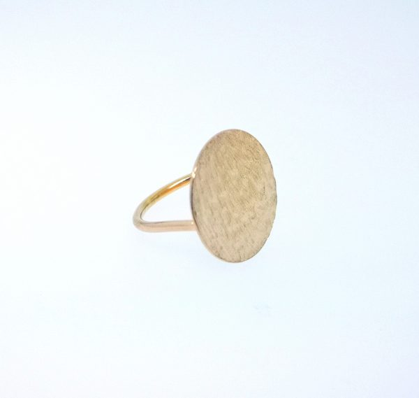 Ripple Disc Ring - Rose Gold Plated - IMG 20200429 143605