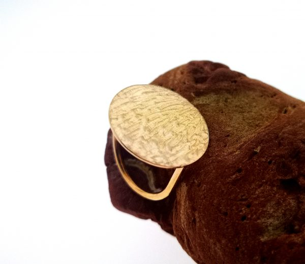 Ripple Disc Ring - Rose Gold Plated - IMG 20200429 143948