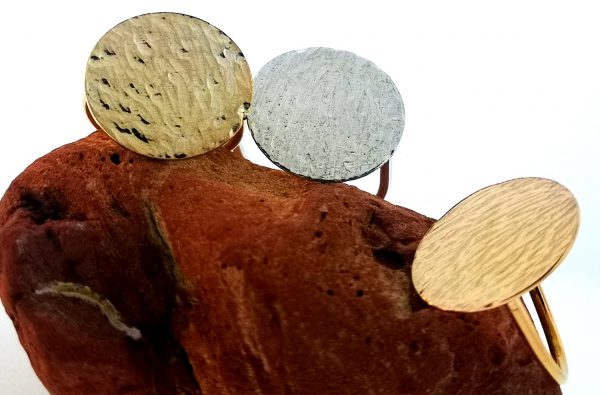 Ripple Disc Ring - Yellow Gold Plated - IMG 20200429 144609