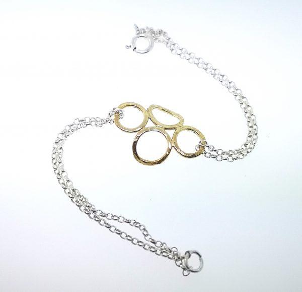 4 Circle Bracelet - Yellow Gold Plated - IMG 20200429 165635