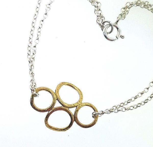 4 Circle Bracelet - Yellow Gold Plated - IMG 20200429 165911