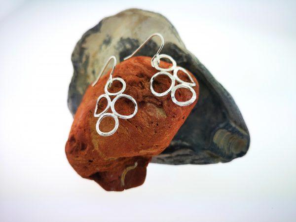 4 Circle Earrings - Sterling Silver - IMG 20200507 111306