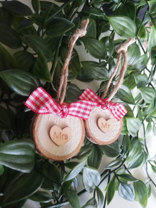 Mr & Mrs Christmas Decorations - IMG 20201108 134955