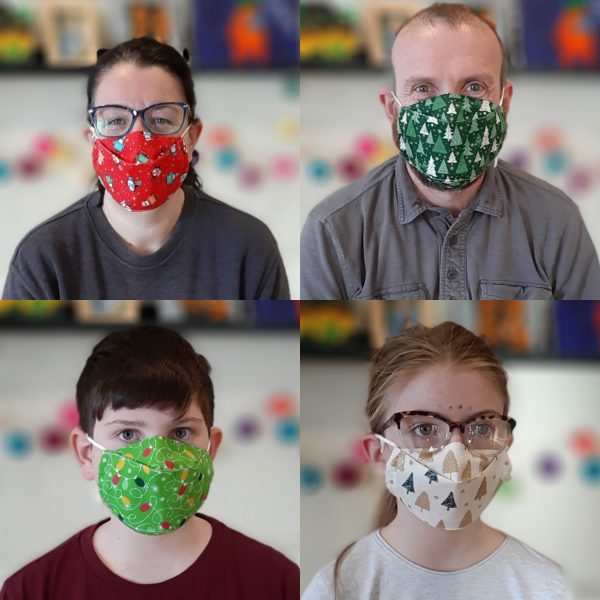 Christmas Face Mask Collection