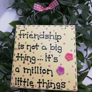 Friendship Sign (Small)