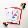 Nollaig Shona Duit Gaelic Christmas Card Set of 6