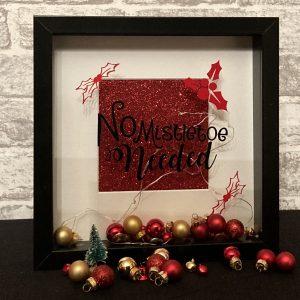 No Mistletoe Needed Framed Art
