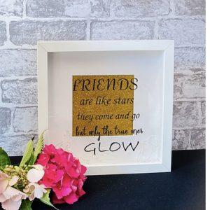 Friends...Glow Framed Art