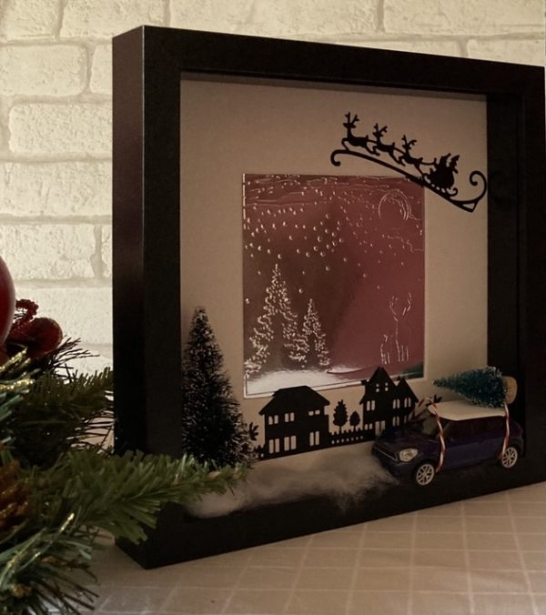 Christmas Open Frame with Mini