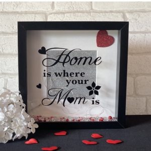 Home Is Where Your Mum Is Framed Art
