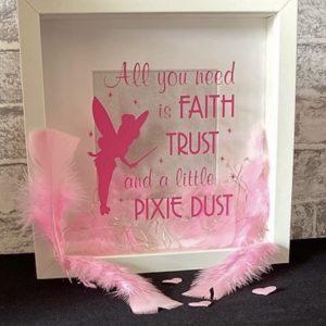 Pixie Dust Framed Art