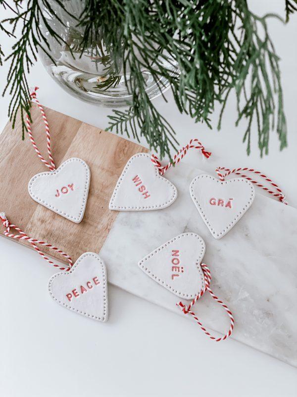 Handmade Heart Christmas Decoration - IMG 6120 jpg