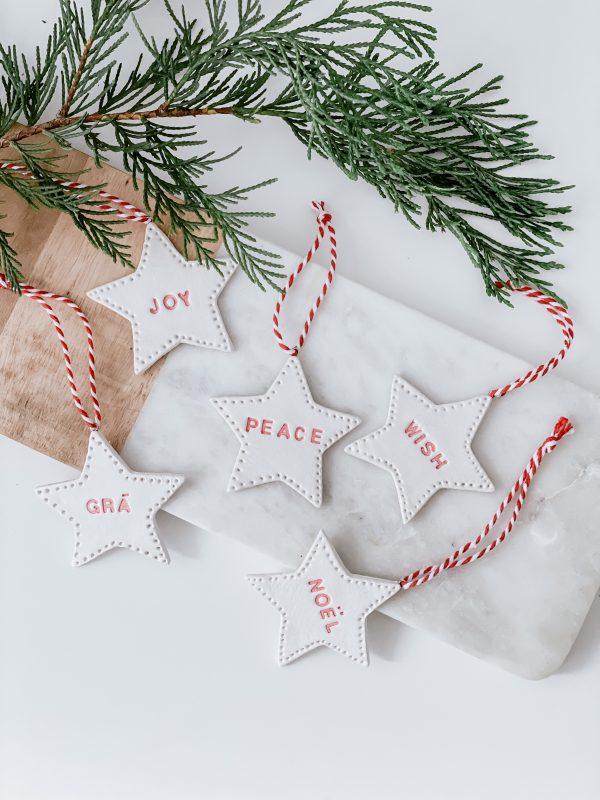 Handmade Christmas Star Decoration - IMG 6127 jpg