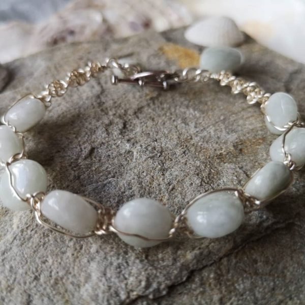 Jade Wire Bracelet