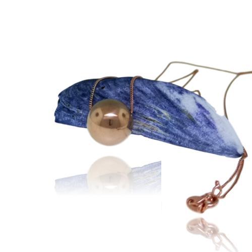 JewelArt Sphere Pendant Mirror Finish - Rose Gold Plated - JewelArt sphere RGP mirror pendant 1