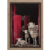 Peek A EWE - Original Framed Painting - Kellyhood.com PEEK A EWE