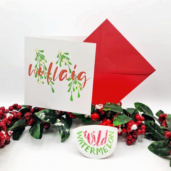 Nollaig Christmas Card