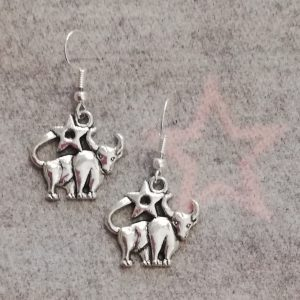 Zodiac Earrings - Taurus