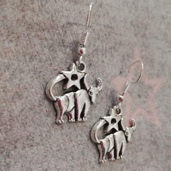 Zodiac Earrings - Taurus - P0 23
