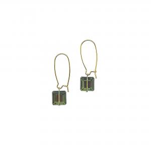 Prism lemon lime earrings