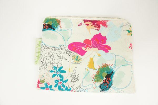 White Floral Makeup bag - RX300234