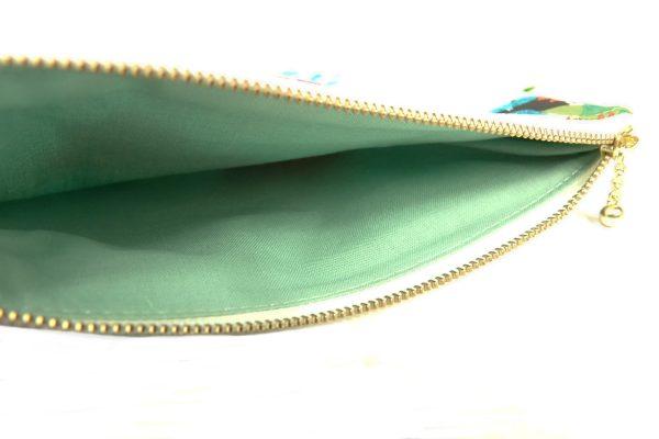 White Floral Makeup bag - RX300235