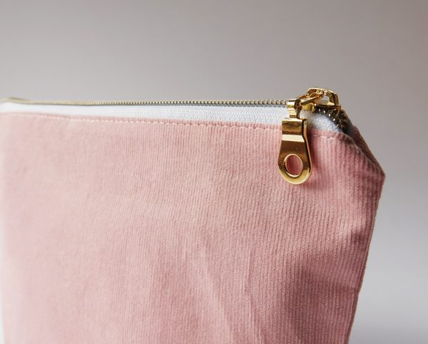Baby Pink cord makeup bag - RX30043315 scaled
