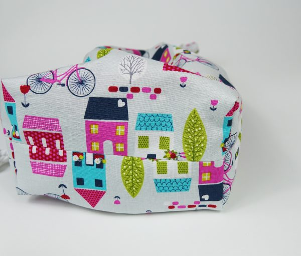 Drawstring Bag with House Design - RX3004438 scaled