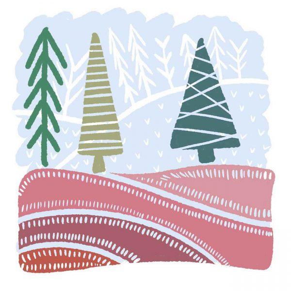 Tree Amigos Tile - Tree time Tile