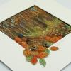 Autumn/Fómhar Framed Textile Art