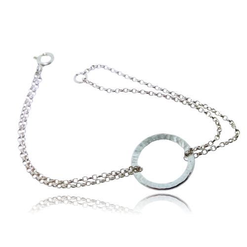 Full Circle Bracelet - Sterling Silver