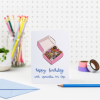 Happy Birthday With Sprinkles On Top Doughnuts Birthday Card