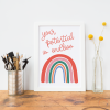 Your Potential Is Endless Motivational Art Print
