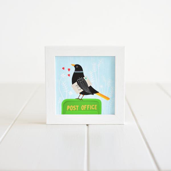 Post Office - Framed Giclée Art Print