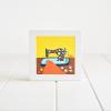 Sewing Machine - Framed Giclée Art Print