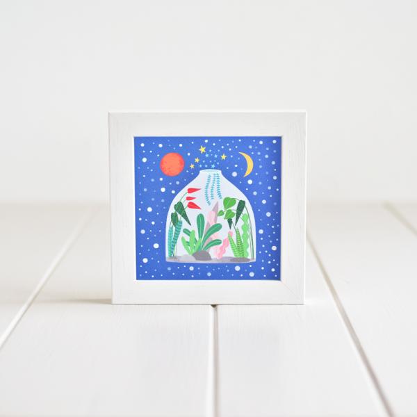 Terrarium - Framed Giclée Art Print