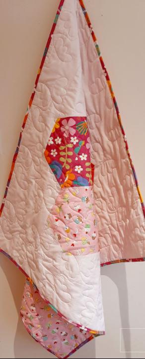 Hexagon Baby Quilt