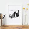 Let's Get Wild Art Print