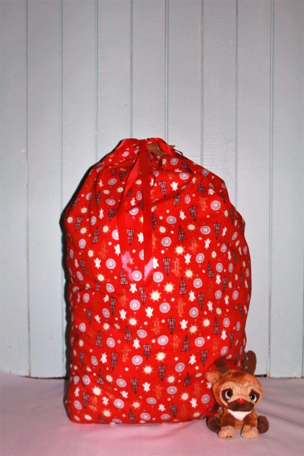 Red Santa Sack