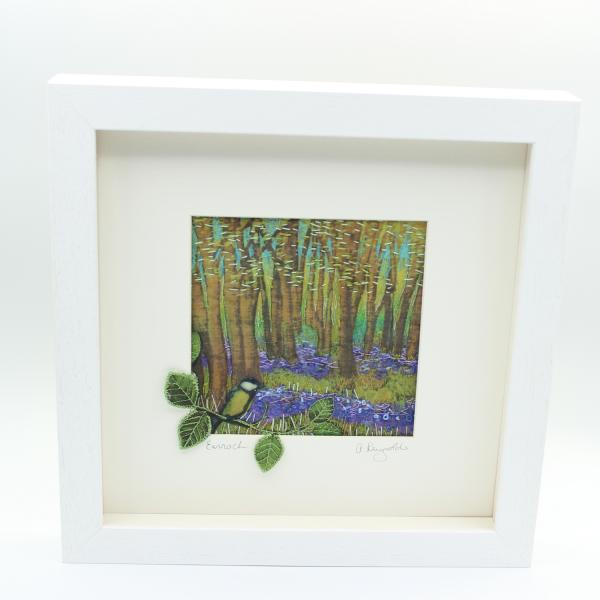 The Seasons - Spring/Earrach Framed Textile Art - spring framed