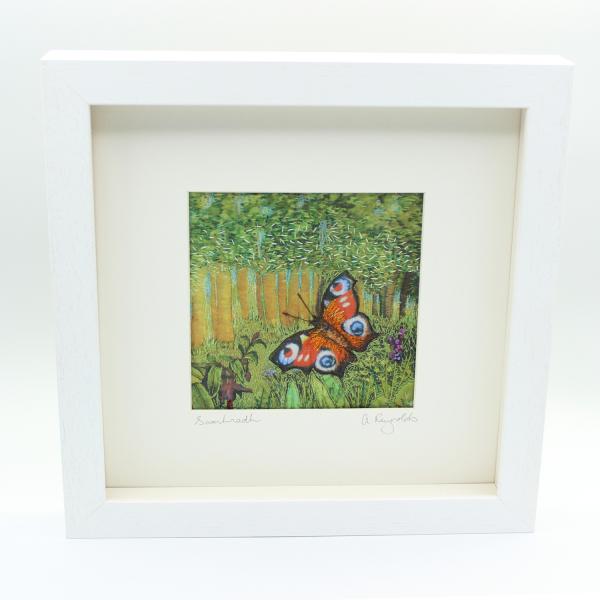 The Seasons - Summer/Samhradh Framed Textile Art - summer framed