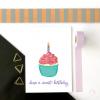 Sweet Cupcake Happy Birthday Card