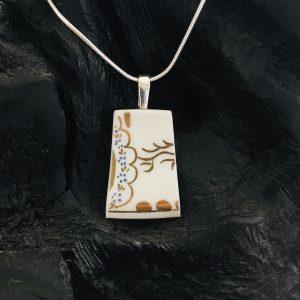 Vintage China Necklace - Gold Fine Bone China