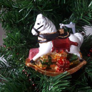Rocking Horse Handmade Christmas Tree Decoration
