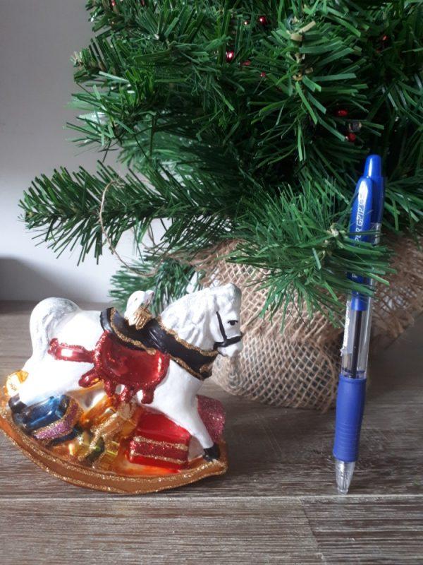 Rocking Horse Handmade Christmas Tree Decoration - 20200923 091045